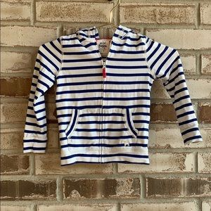 Mini Boden • Striped Zip Up Hoodies Size 2-3Y